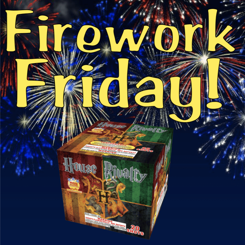 Firework Friday – House Rivalry