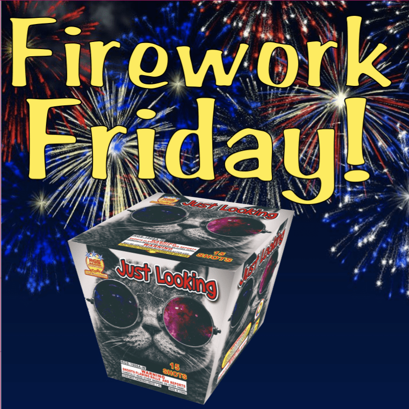 Firework Friday – Just Looking