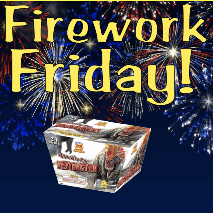 Firework Friday – Appetite for Destruction