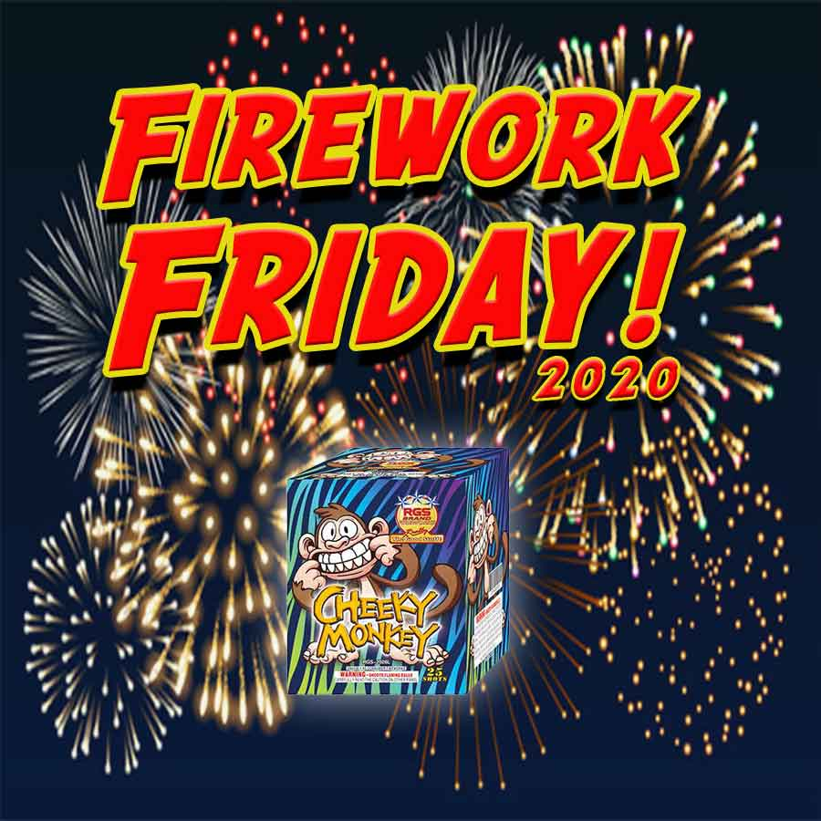 Firework Friday – Cheeky Monkey!
